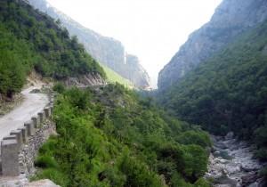 Road to Mount Dajt